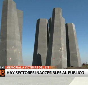 El decadente estado del memorial por víctimas del 27/F en Concepción