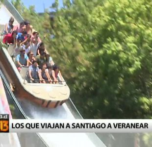 Verano 2015: ¿quiénes son los que veranean en Santiago?