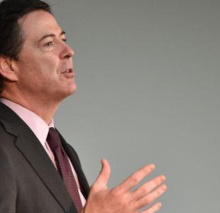 Ex jefe del FBI declarará en sesión pública previo a su paso por Comité de Inteligencia del Senado