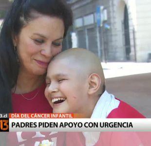 Padres piden más apoyo para niños con cáncer