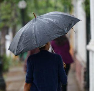 Lluvia de verano sorprende en la zona central