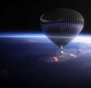 [VIDEO] Un parapente descendió desde más de 31 mil metros