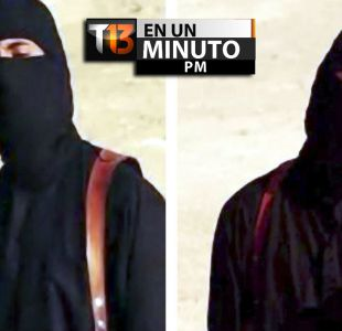 [VIDEO] #T13ennminuto: Identifican a verdugo Yihadista John de Estado Islámico