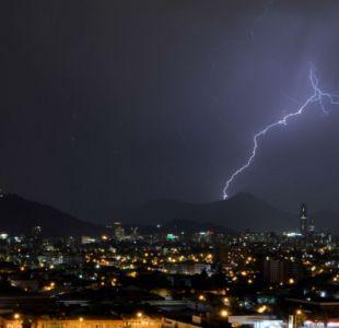 Pronostican tormentas eléctricas este viernes en las regiones del Bío-Bío, La Araucanía y Los Ríos