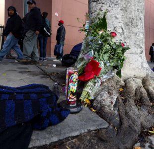 Indigente muerto a manos de policías de Los Ángeles era camerunés