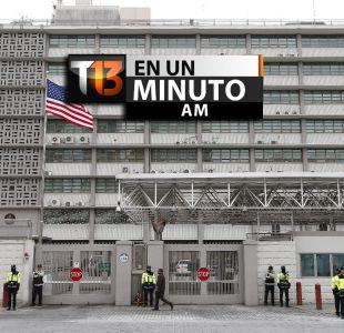 [VIDEO] #T13enunminuto: El embajador de EEUU es atacado en Corea del Sur