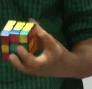 [VIDEO] Indio logra récord Guinness al resolver 5 cubos rubik en menos de dos minutos