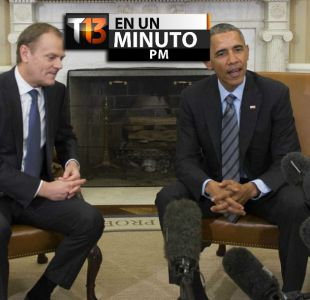 [VÍDEO] #T13enunminuto: Casa Blanca deplora actitud de republicanos de entorpecer acuerdo con Irán