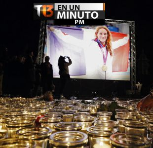 [VIDEO] #T13enunminuto: Tres deportistas franceses mueren en choque de helicópteros en Argentina
