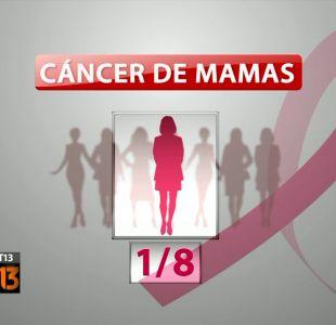 Una de cada ocho mujeres tiene cáncer de mamas en Chile