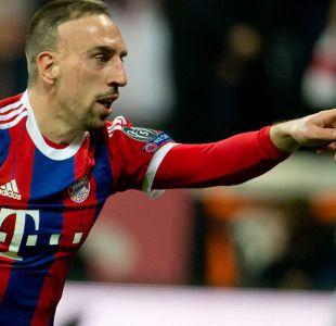 Ribéry renueva por un año con el Bayern Munich