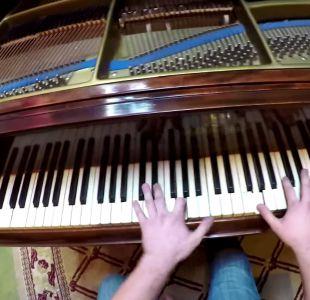 [VIDEO] Así se ve el virtuosismo de un concertista de piano a través de sus ojos