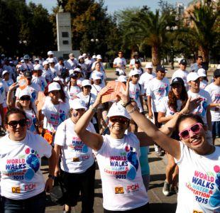 Caminata por el Día Mundial del Agua convoca a cientos de personas