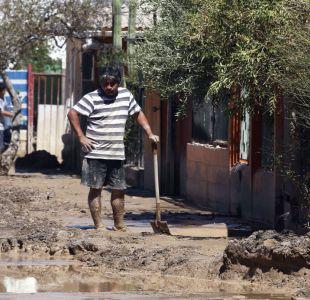 Región de Atacama: 80% de las calles están despejadas de barro