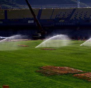 Estadio de Concepción tiene fecha de entrega