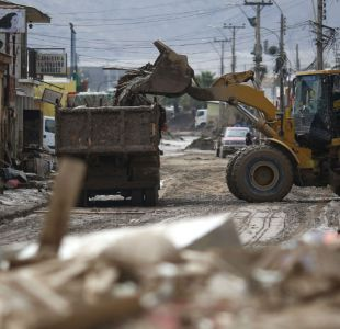 MOP comenzó obras de limpieza en Chañaral