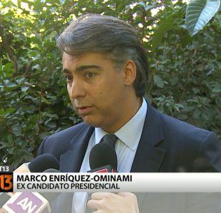 Marco Enríquez-Ominami reconoce reunión con SQM