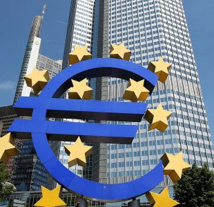 Banco Central Europeo advierte brusca corrección de los mercados