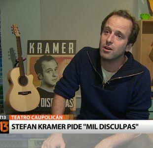 [VIDEO] Kramer imita a Don Francisco y a Aldo Schiappacasse en la previa de su show