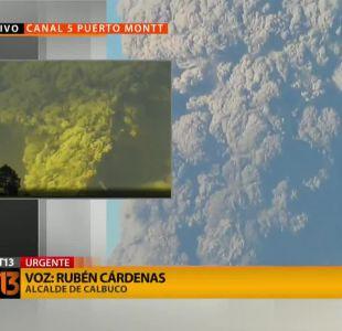 [EN VIVO] Sigue acá la transmisión de T13 con la erupción del volcán Calbuco