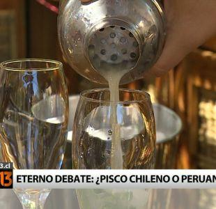 El eterno debate: ¿El pisco es chileno o peruano?
