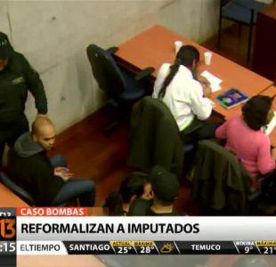 Caso Bombas: Imputados son reformalizados y continúan con huelga de hambre