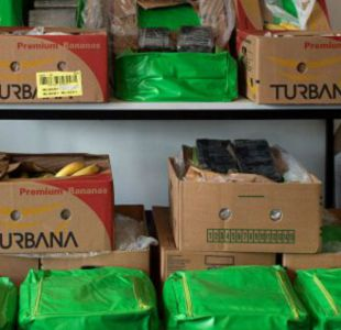 Cocaína colombiana camuflada entre plátanos llega a supermercados de Berlín