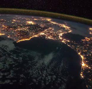 La espectacular travesía entre España e Italia vista desde el espacio