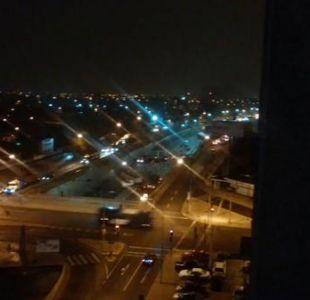 Choque múltiple en Autopista Central deja cinco lesionados leves