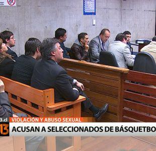Formalizan a seleccionados chilenos de Básquetbol acusados de violación y abusos sexuales