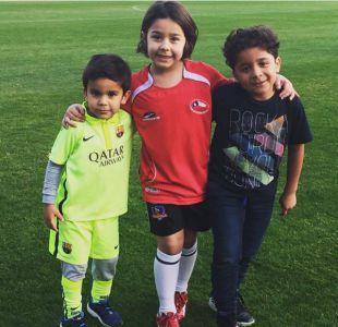 [FOTOS] Así celebraron los jugadores de la Roja el día del padre