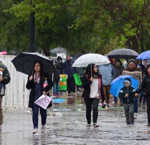 Anuncian lluvia y posibles tormentas eléctricas en zona central