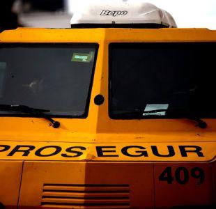 Asaltan camión de valores en Puente Alto tras encañonar al chofer