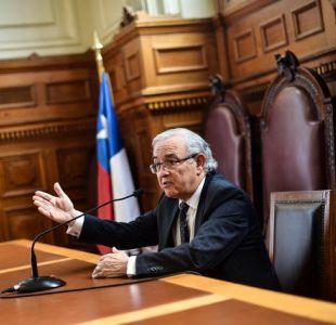 Milton Juica: los fallos de los tribunales no abren ni cierran ninguna puerta