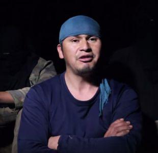 Video: Comunero Cristián Levinao se declara en la clandestinidad