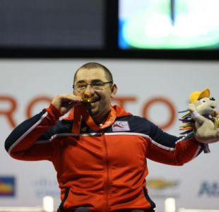 Chile supera lo realizado en los Parapanamericanos de Guadalajara tras oro de Juan Carlos Garrido