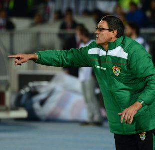 FIFA suspende a técnico de Bolivia acusado de insultar a jugadores chilenos