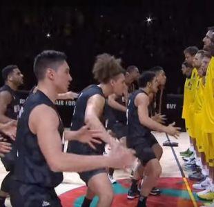 [VIDEO] Revisa el increíble Haka de la selección de básquetbol de Nueva Zelanda