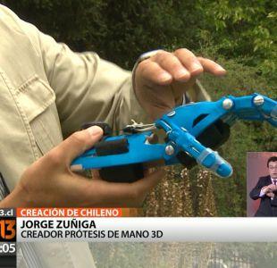 Impresiones en 3D: Chileno le ha cambiado la vida a miles de niños