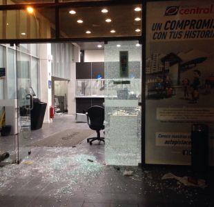 Oficina de Autopista Central sufre violento robo en San Bernardo