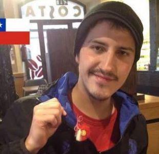 Familia de joven chileno desaparecido en Europa viaja mañana a buscarlo