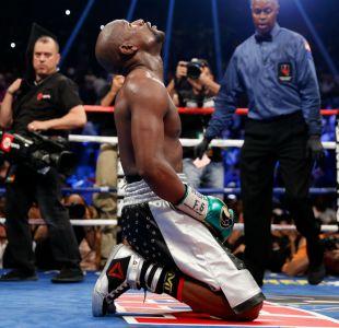 Mayweather entra a la historia del boxeo al igualar récord invicto de Rocky Marciano