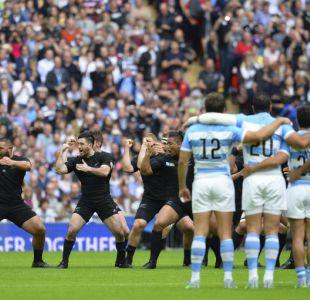 El intimidante Haka de Nueva Zelanda en su debut ante Argentina
