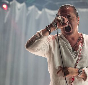 Mike Patton en el Santiago Gets Louder