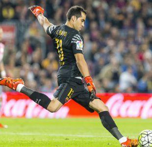 Barcelona golea a Rayo Vallecano en una destacada jornada de Claudio Bravo