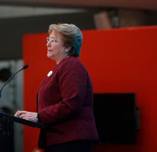 Presidenta Bachelet se resta de asistir a cena de la Sofofa