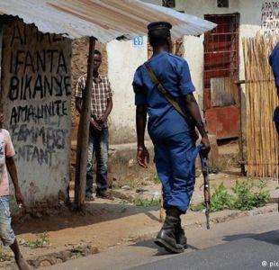 las fuerzas de seguridad asesinaron durante el fin de semana a once personas en la capital de Burundi, Buyumbura.