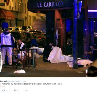 Atentados en París