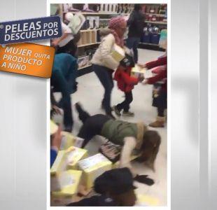 Fiebre del consumo desató insólita pelea durante el Black Friday