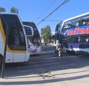 Sernac denunció a 30 empresas de buses a días del fin de semana largo
